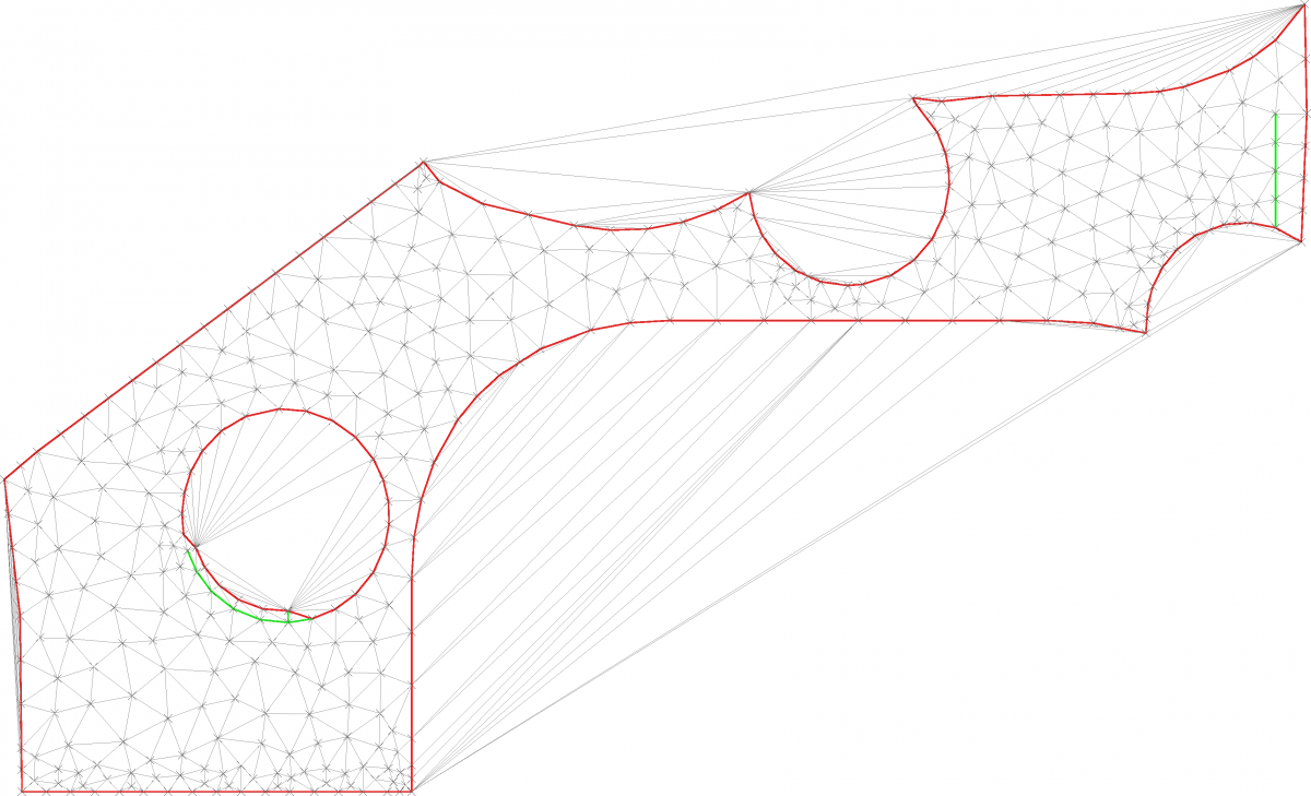 Delaunay Meshing, Polygon triangulation with high quality triangles