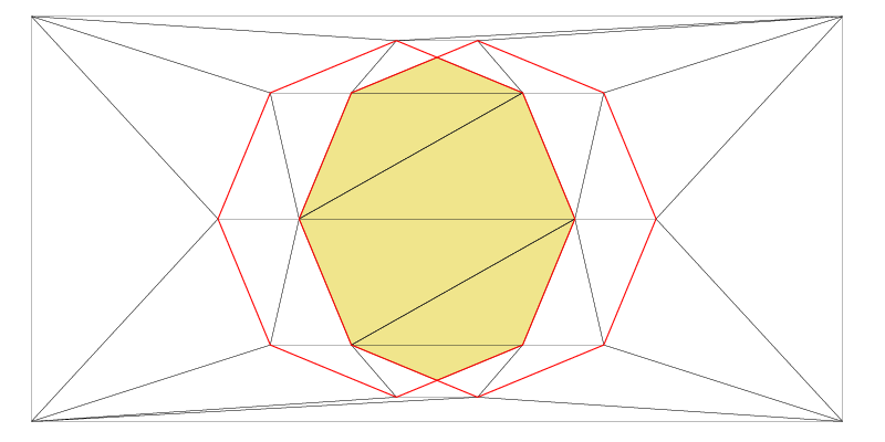 Boolean operation, Intersection of two shapes